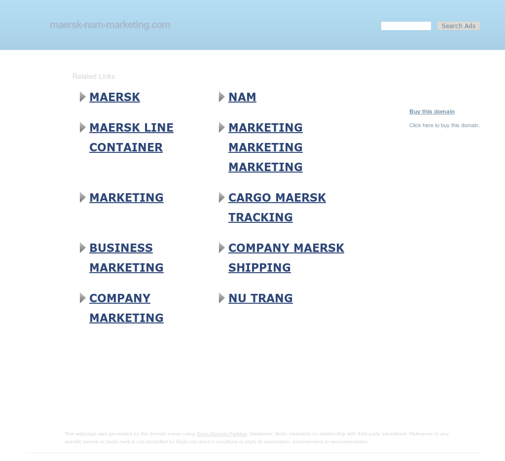 Maersk Line North America Competitors, Revenue and Employees