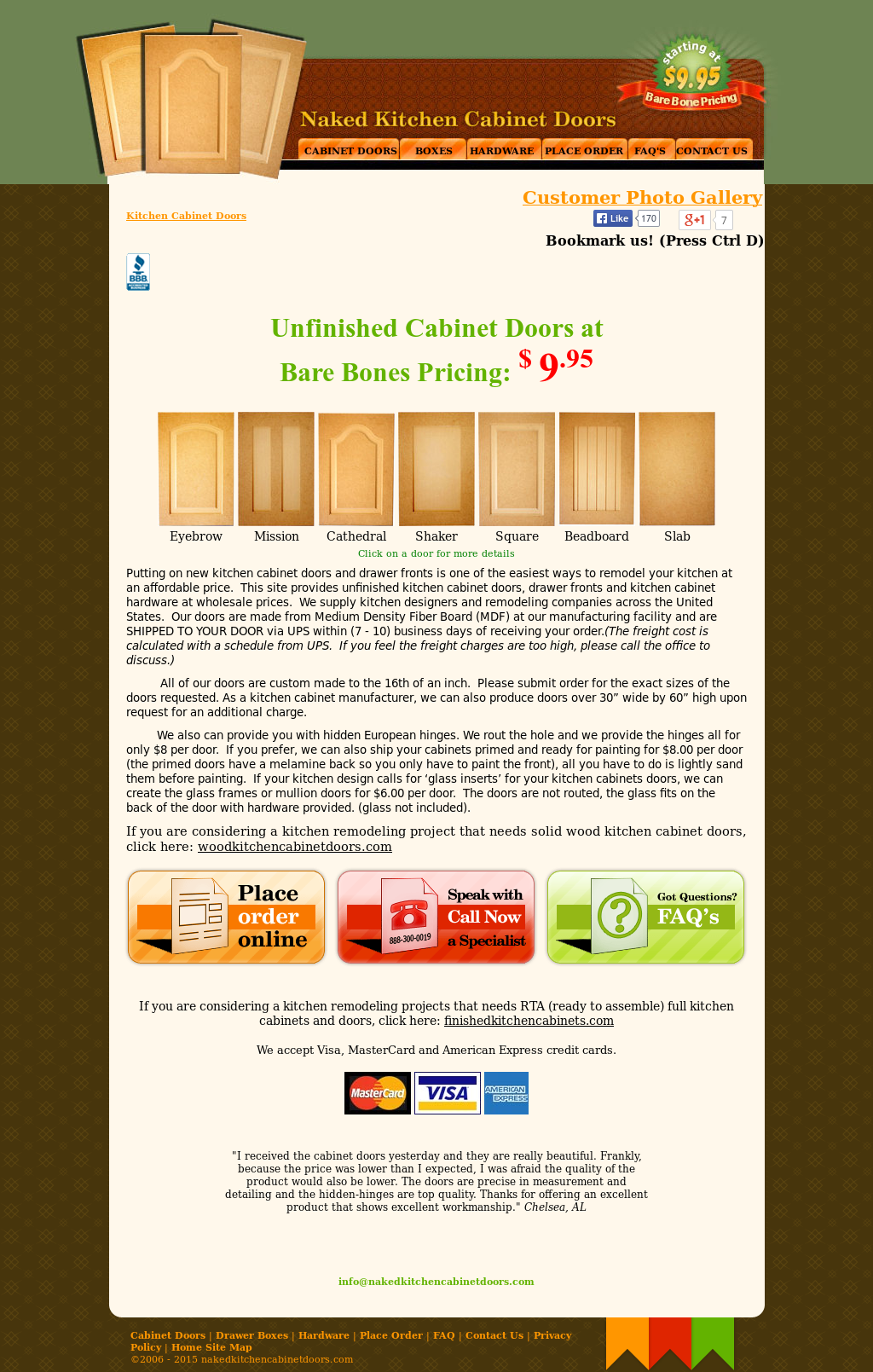 Naked Kitchen Cabinet Doors Competitors Revenue And Employees