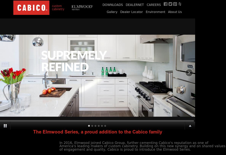 Elmwood Fine Custom Cabinetry Website History