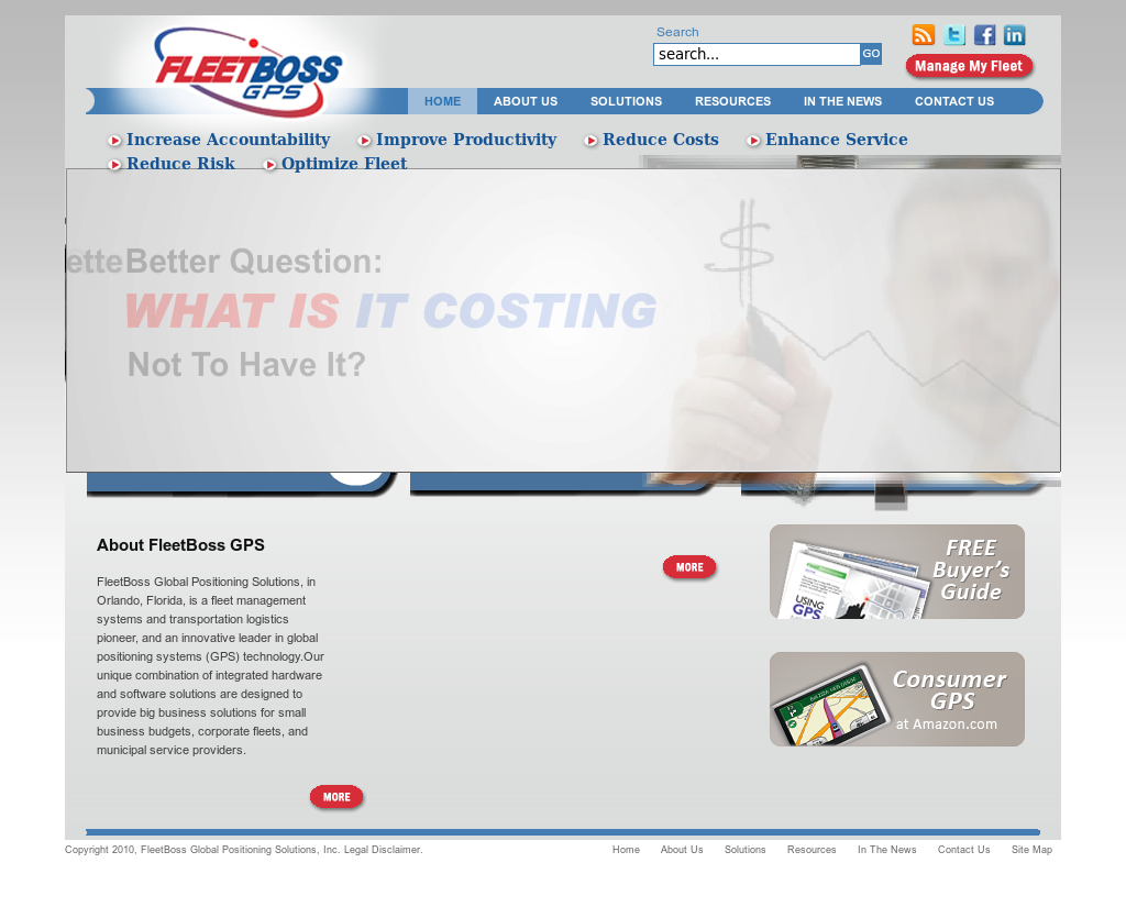 Fleetboss Global Positioning Solutions Competitors, Revenue and