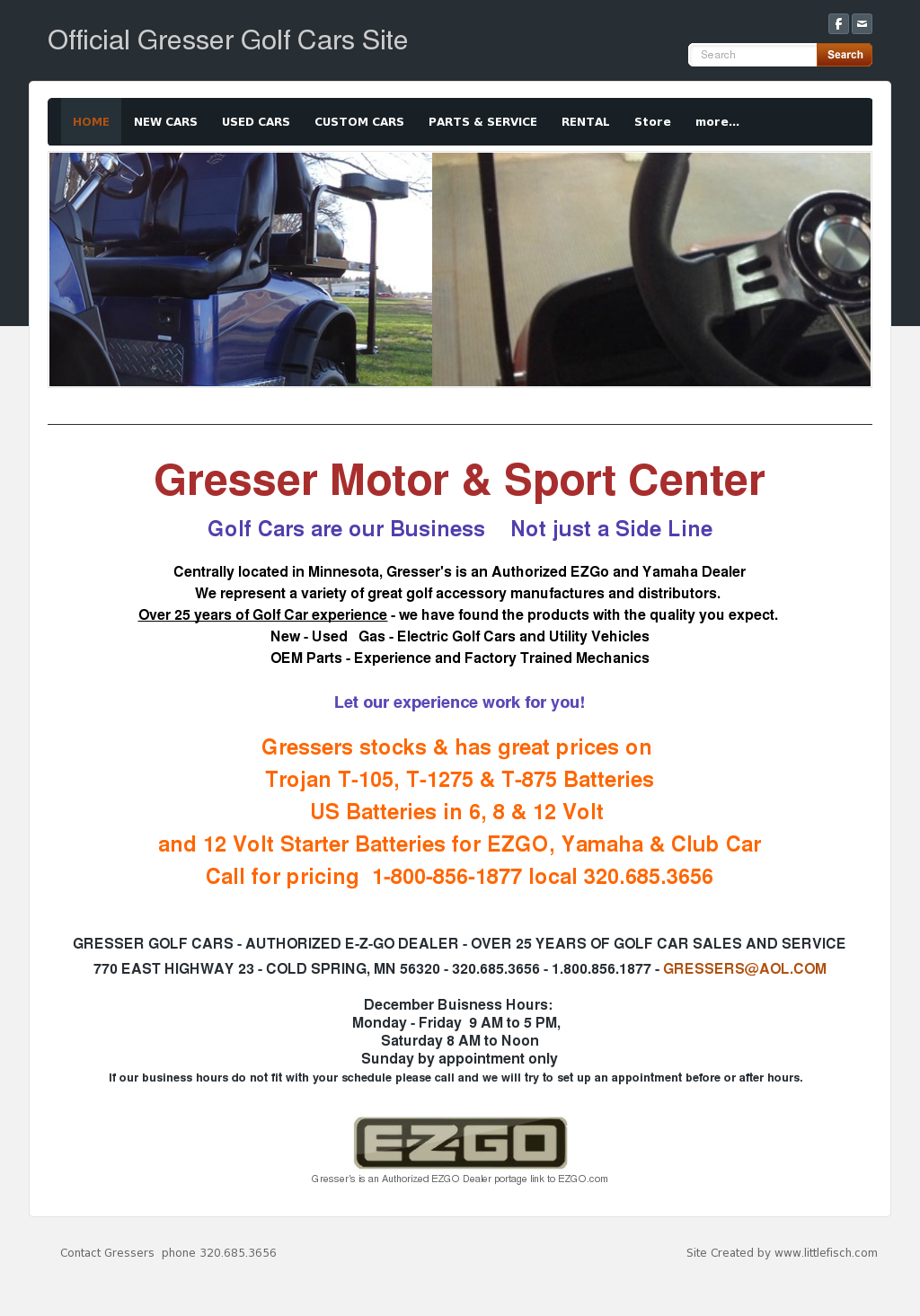 Gresser Golf Cart Competitors, Revenue and Employees - Owler