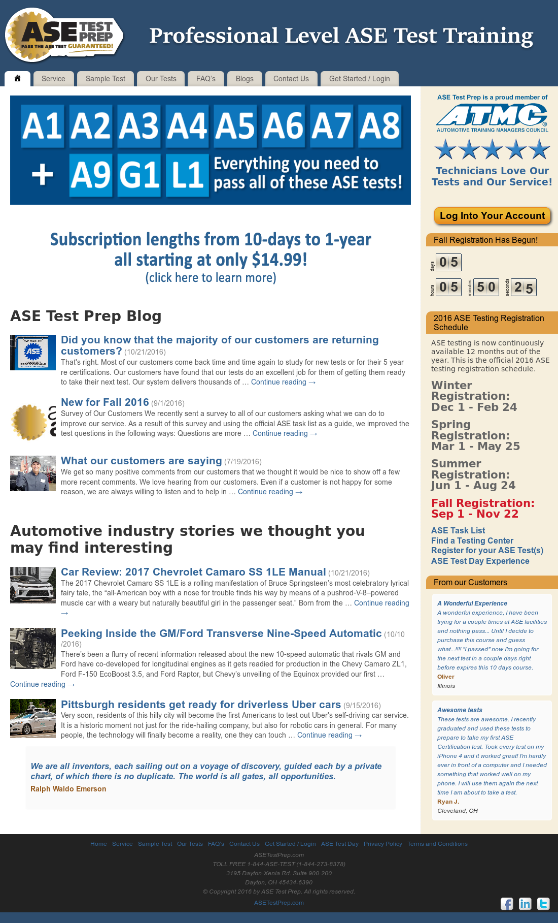 Ase Test Prep Competitors Revenue And Employees Owler Company Profile