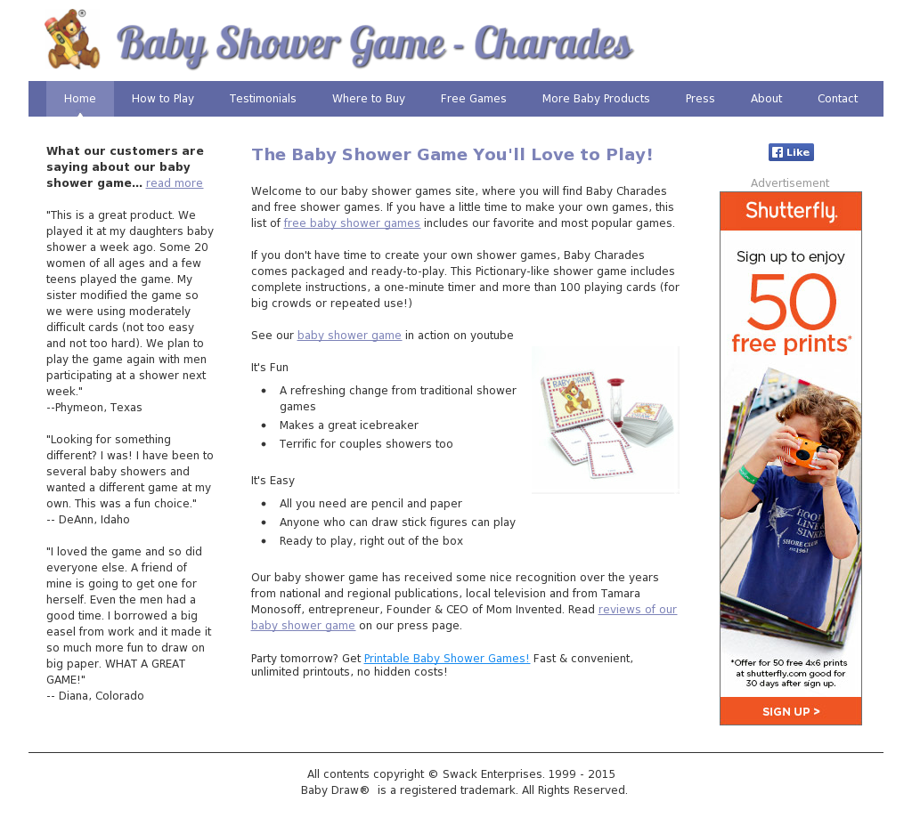 Baby Shower Charades Competitors Revenue And Employees Owler