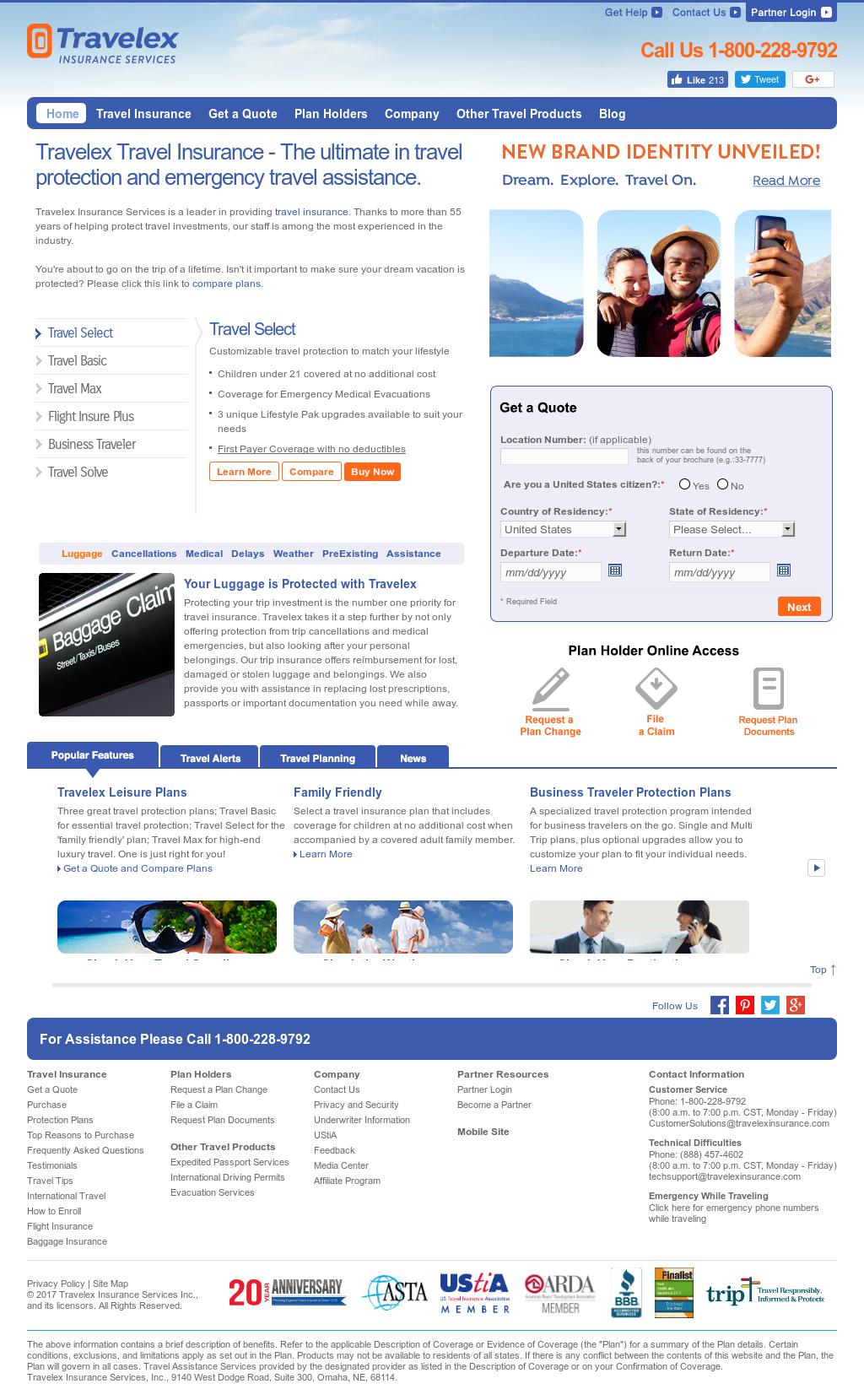 Travelex Insurance Services Competitors Revenue And