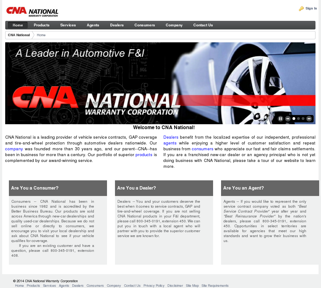 Cna National Warranty >> Cna National Competitors Revenue And Employees Owler Company Profile