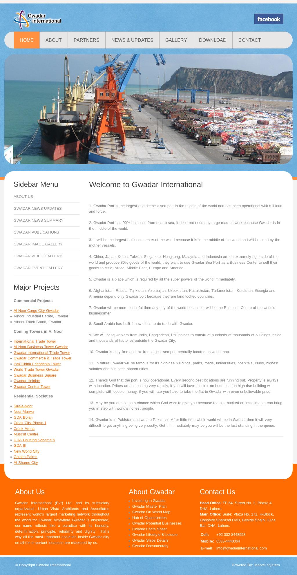 Gwadar International Competitors, Revenue and Employees