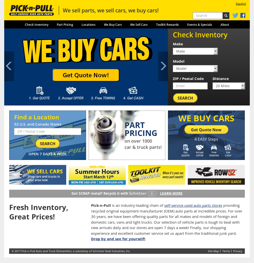 Pick N Pull Competitors Revenue And Employees Owler Company Profile