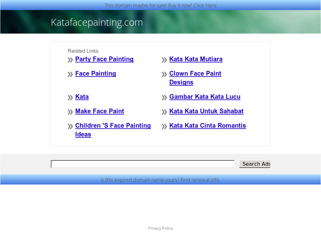 Kata Face Painting Petitors Revenue And Employees