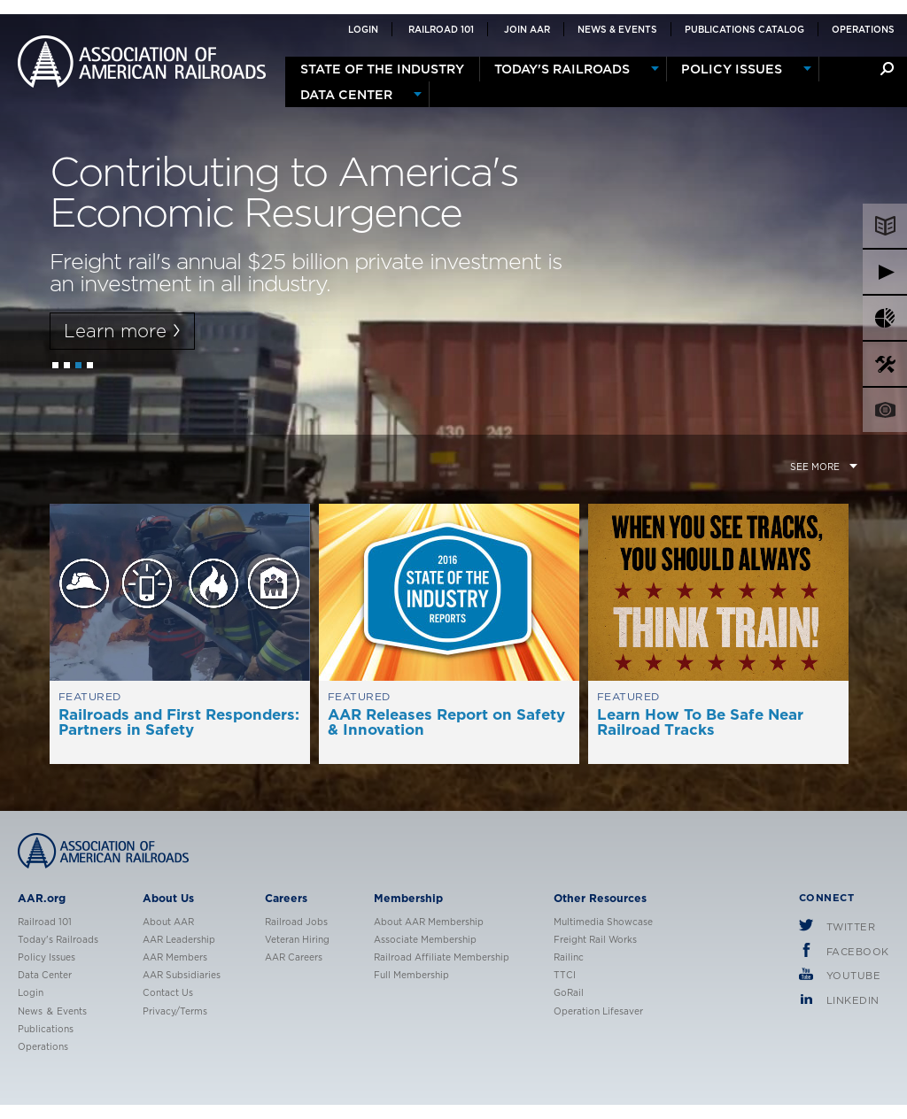 Association of American Railroads Competitors, Revenue and
