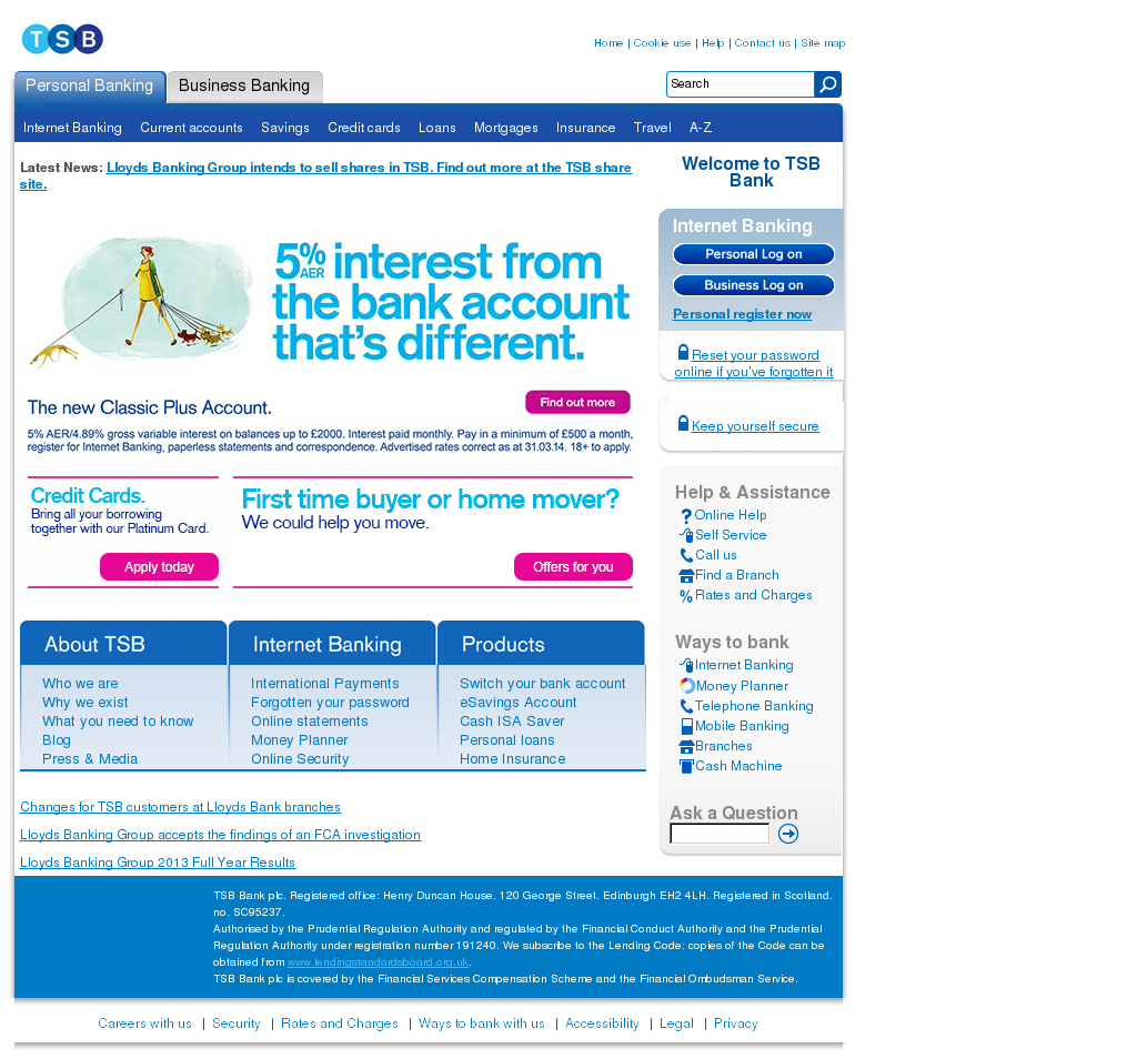 TSB Bank Competitors, Revenue and Employees - Owler Company Profile