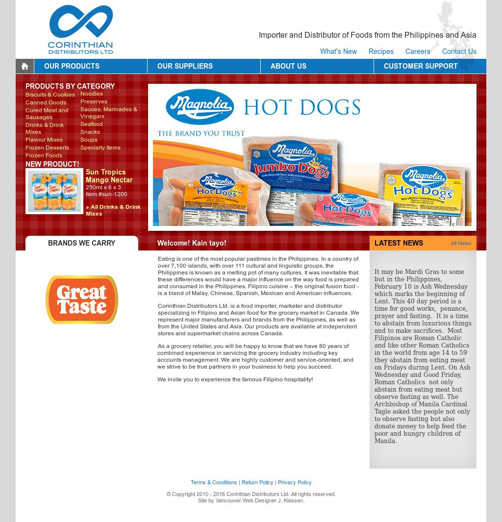 Corinthian Distributors Competitors, Revenue and Employees