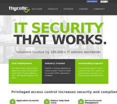 Thycotic website history
