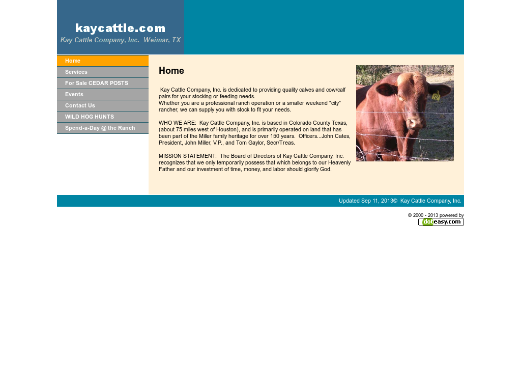 Kay Cattle Company Competitors, Revenue and Employees