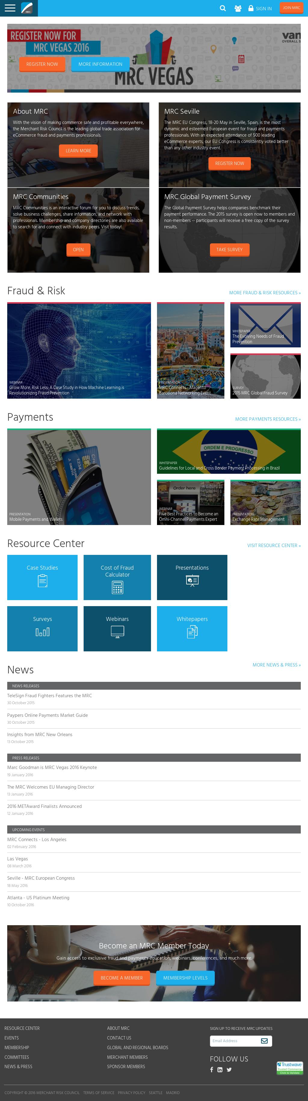 Merchantriskcouncil Competitors, Revenue and Employees