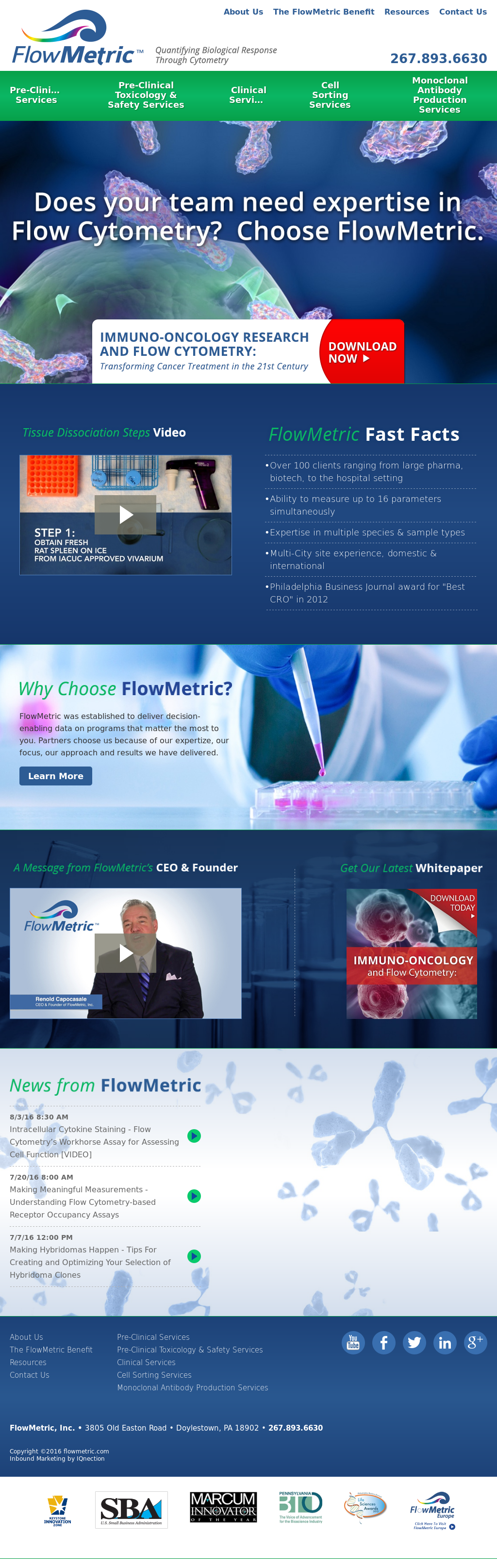 Flowcytometryservices Competitors, Revenue and Employees