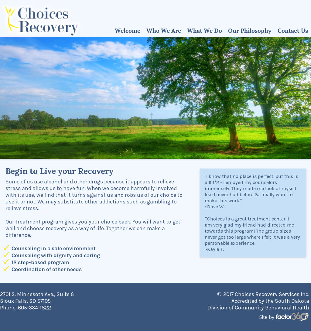 choices recovery services competitors revenue and employees owler