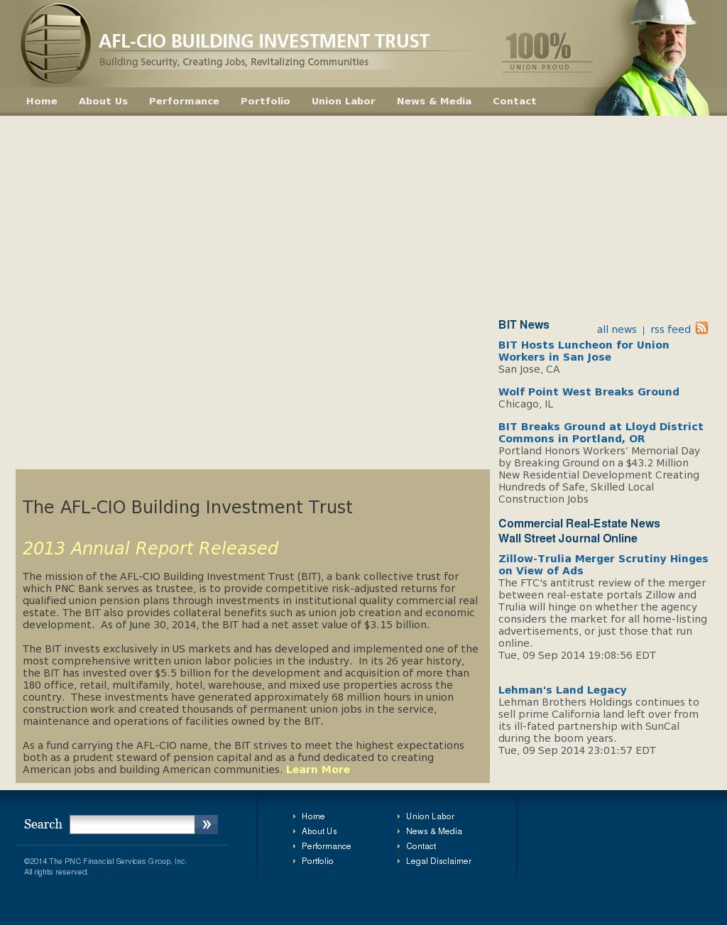 AFL-CIO Building Investment Trust Competitors, Revenue and Employees