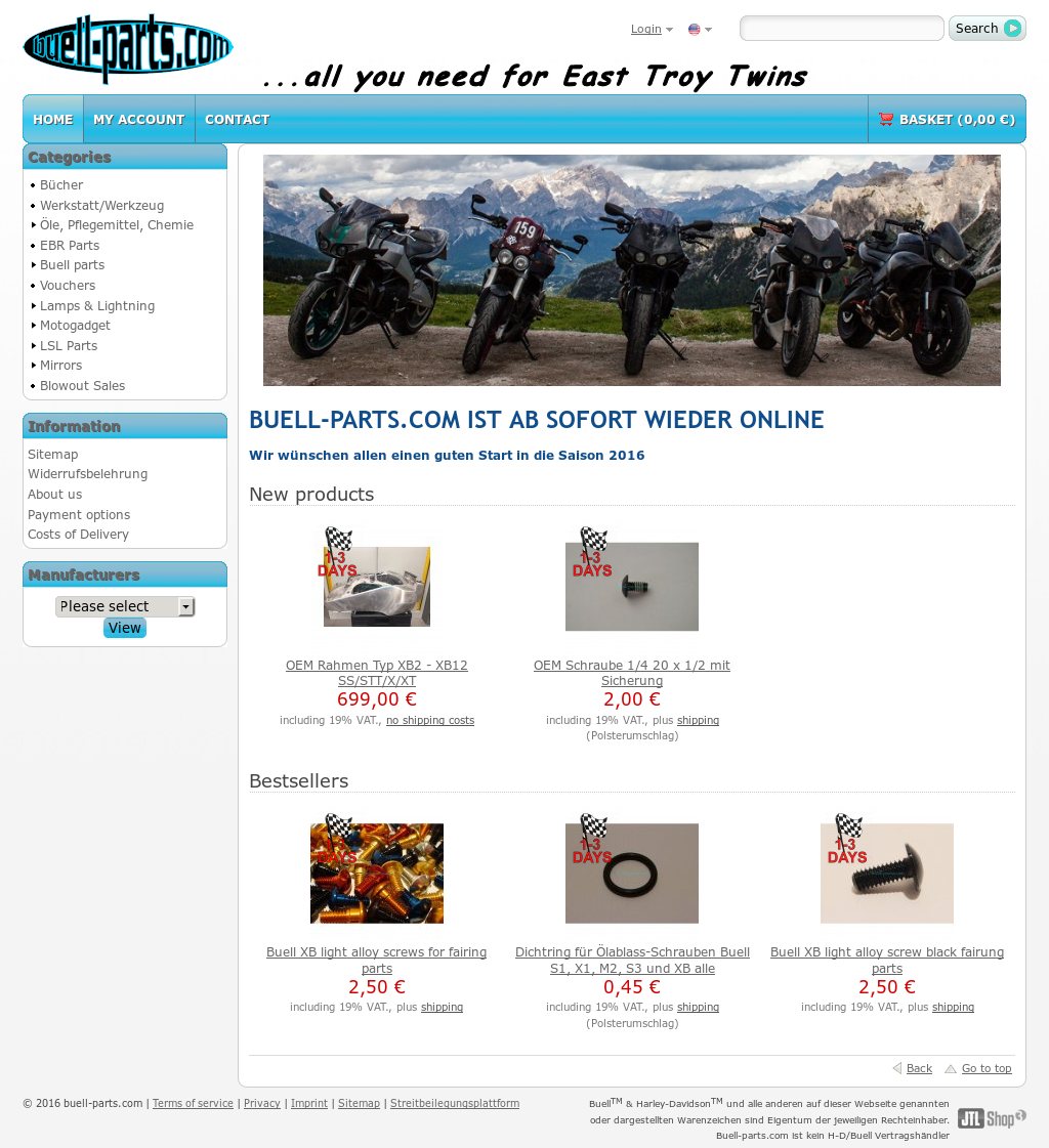 Buell Parts Competitors, Revenue and Employees - Owler Company Profile