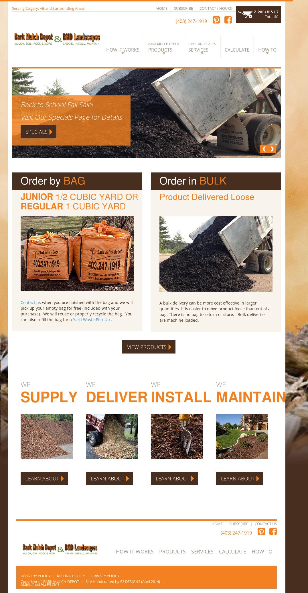 Bark Mulch Depot & Bmd Landscapes Competitors, Revenue and