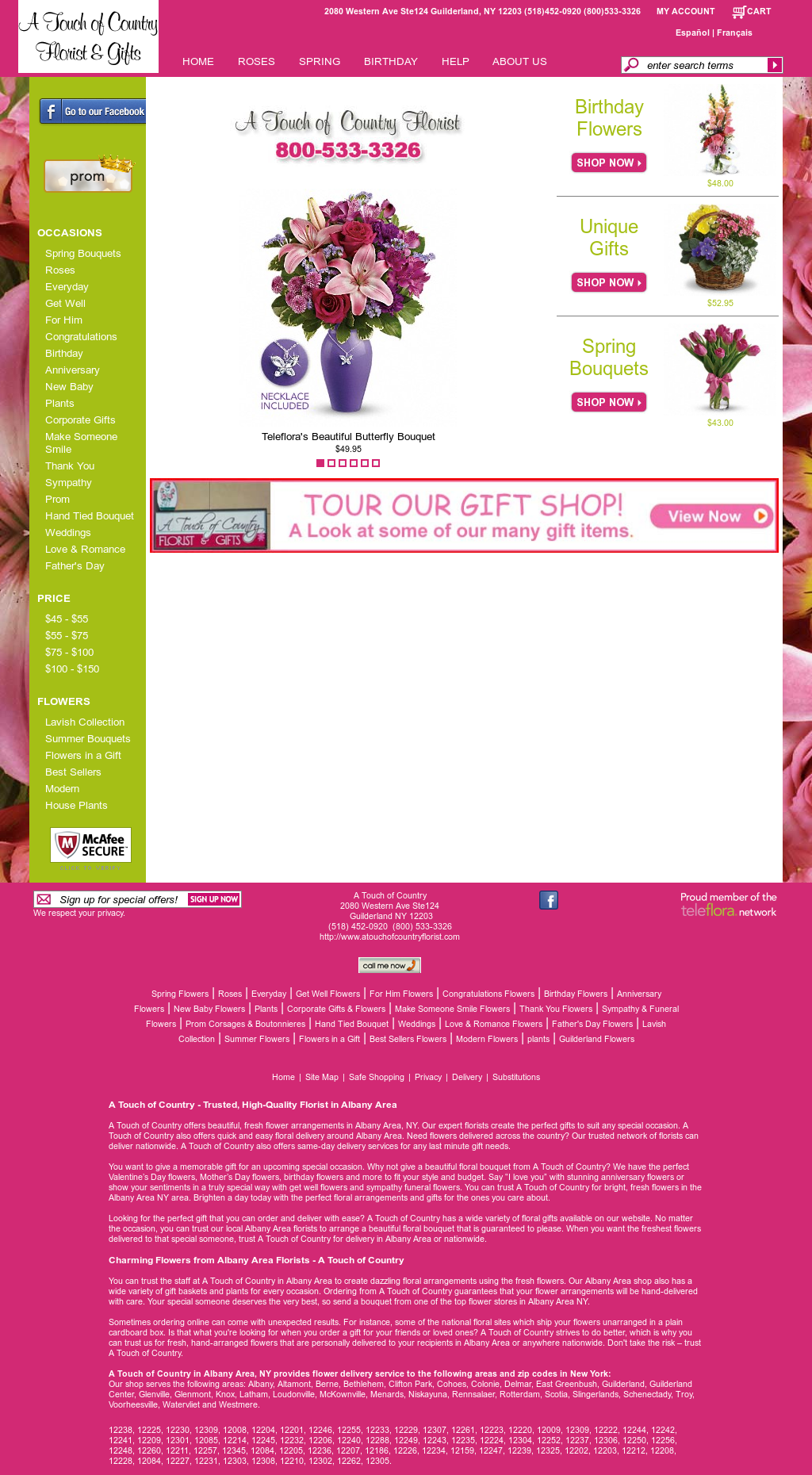 A Touch Of Country Florist And Gifts Competitors, Revenue and Employees - Owler Company Profile