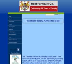 Reid Furniture Website History