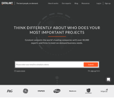 Catalant website history