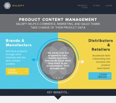 Salsify website history