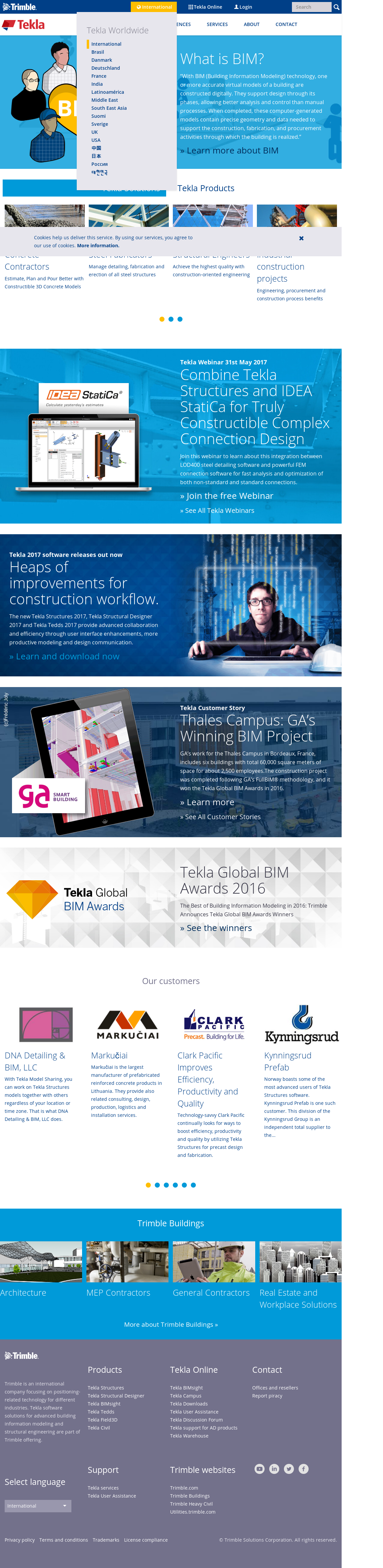 Owler Reports - Tekla: Tekla 2018 Packages Released for