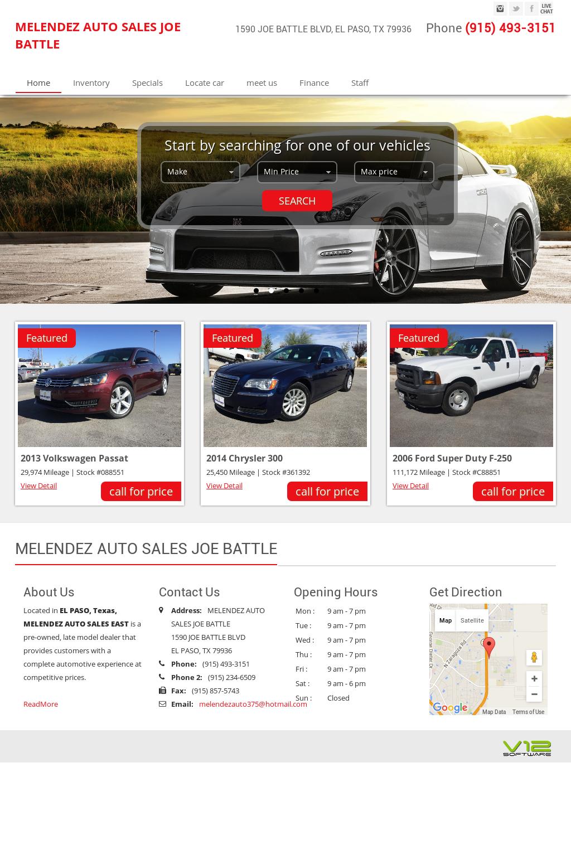 Melendez Auto Sales >> Melendez Auto Sales East Competitors Revenue And Employees Owler