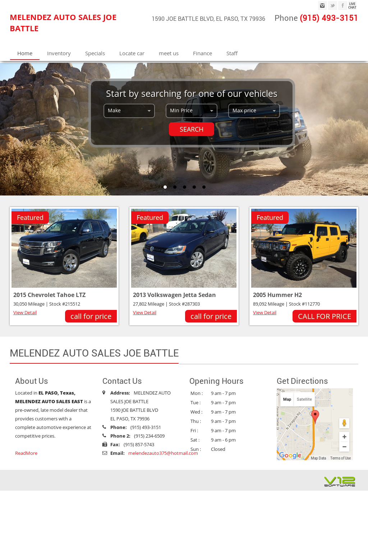 Melendez Auto Sales >> Melendez Auto Sales East Competitors Revenue And Employees