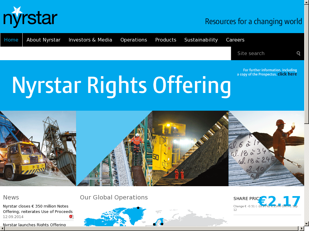 Nyrstar Competitors, Revenue and Employees - Owler Company Profile
