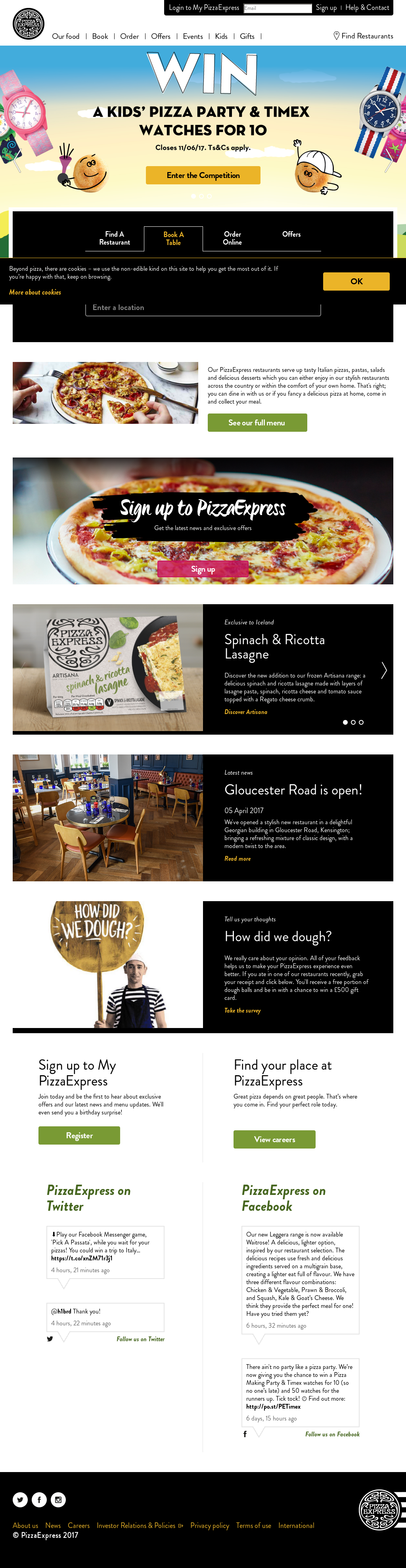Pizzaexpress Competitors Revenue And Employees Owler