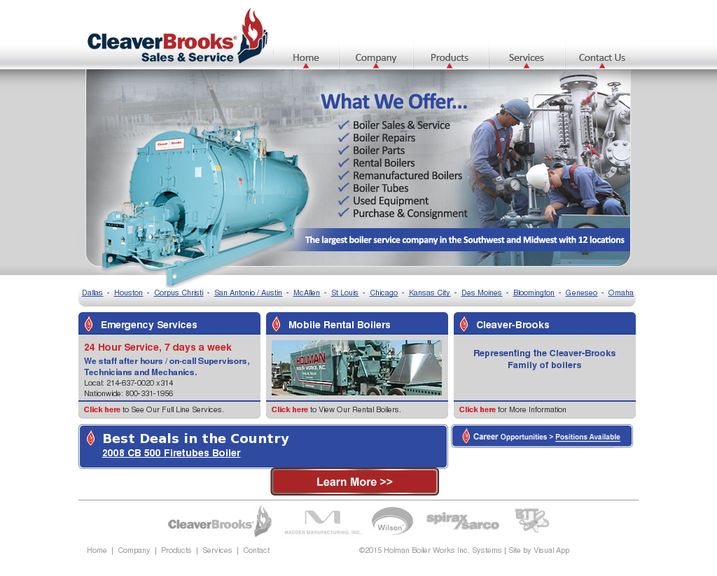 Holman Boiler Works Competitors, Revenue and Employees - Owler ...