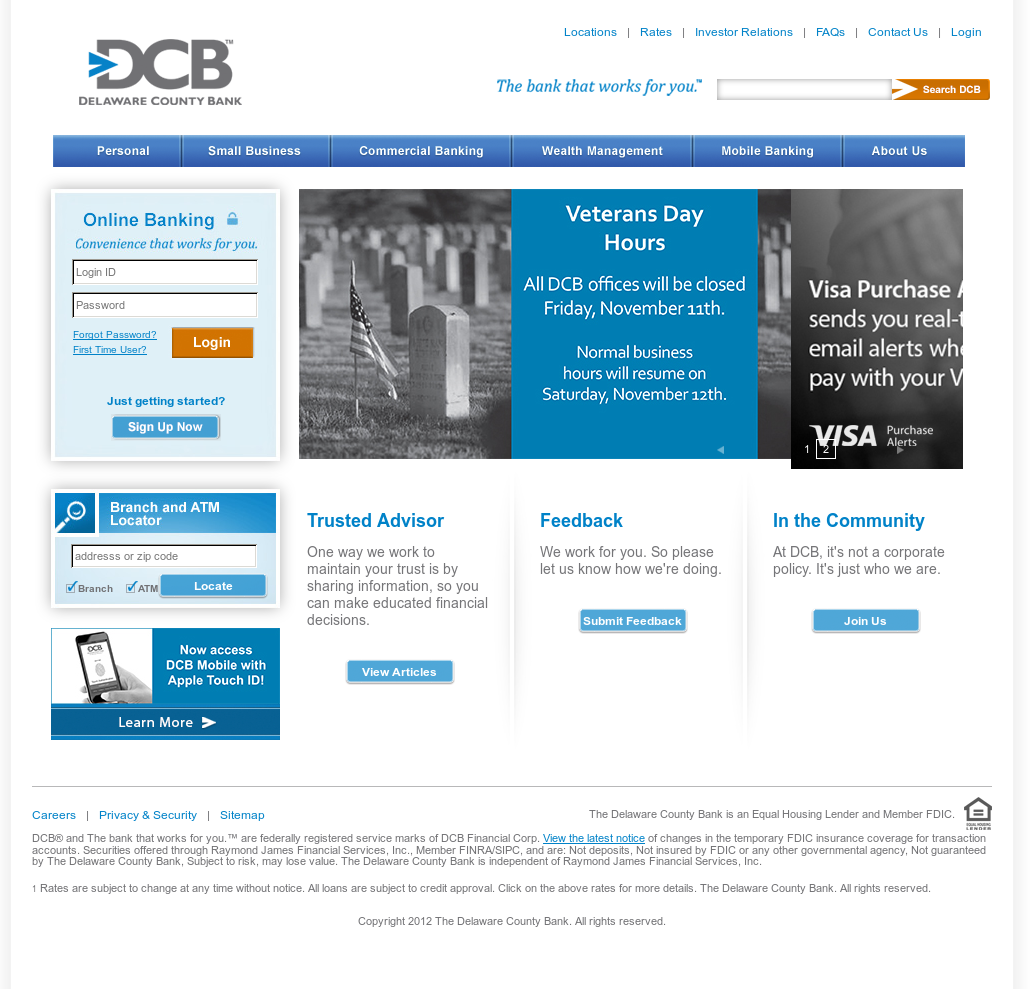 Owler Reports - DCB: Delaware County Bank buyer cutting 58