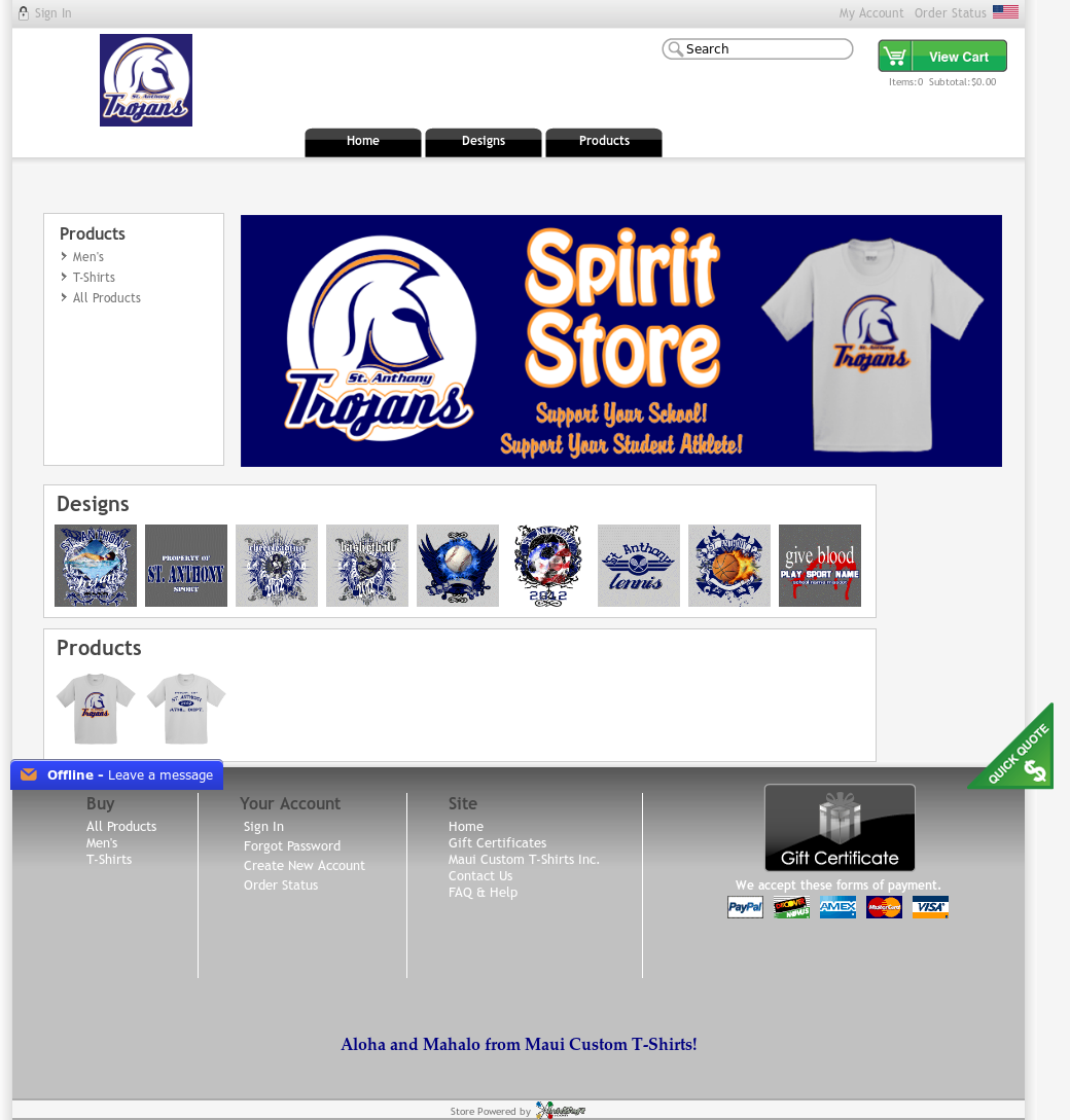 Maui Custom T Shirts Competitors Revenue And Employees Owler