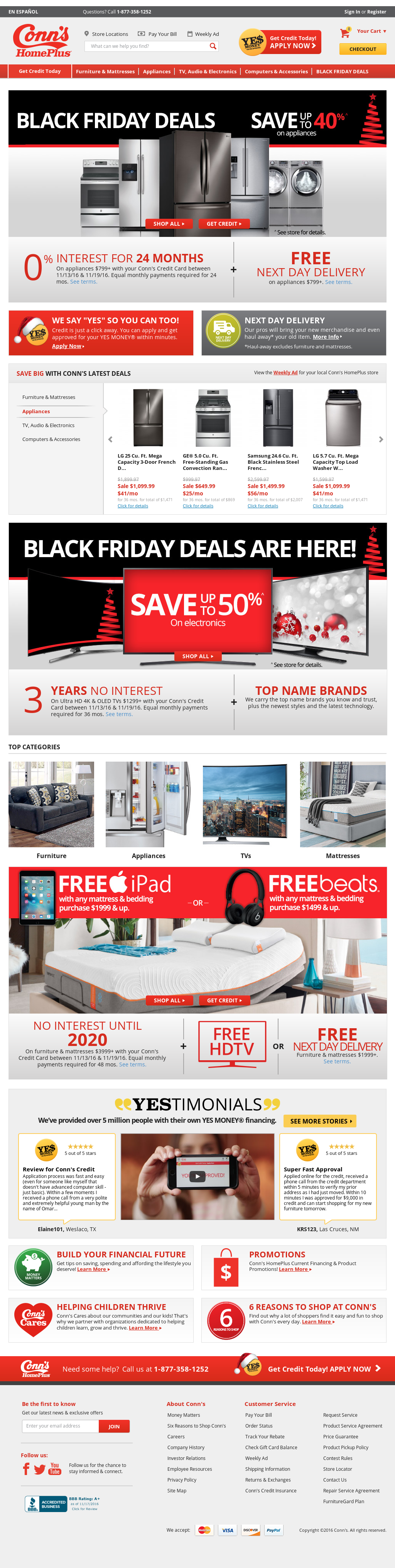 credit ceo inc naming of consumer electronics area specialty store retailer adds mattresses news conn jobs after home appliances years celebrated furniture article s provider conns in cupboard beaumont and new a