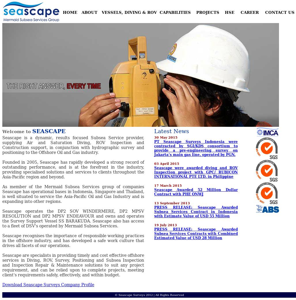 Seascape Surveys Competitors, Revenue and Employees - Owler