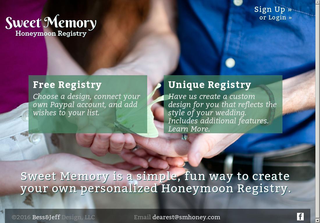 Sweet Memory Honeymoon Registry Competitors, Revenue and