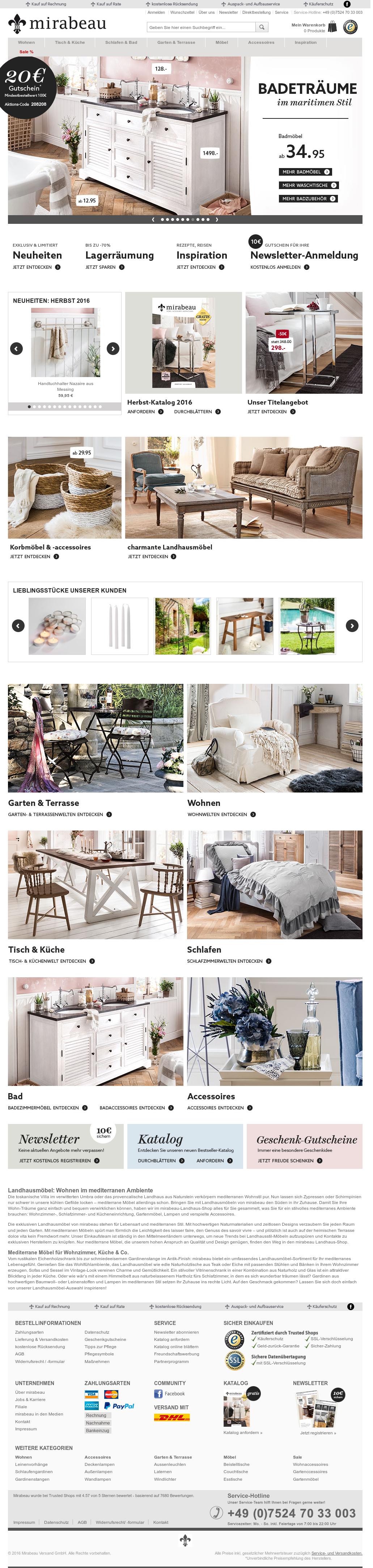 mirabeau garten garten online shop garten ideas holzbank garten beautiful rattanmobel lounge d. Black Bedroom Furniture Sets. Home Design Ideas