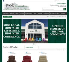Ivor Furniture Company Website History