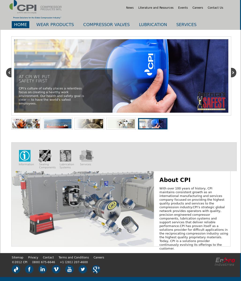 Cpi Competitors Revenue And Employees Owler Company Profile