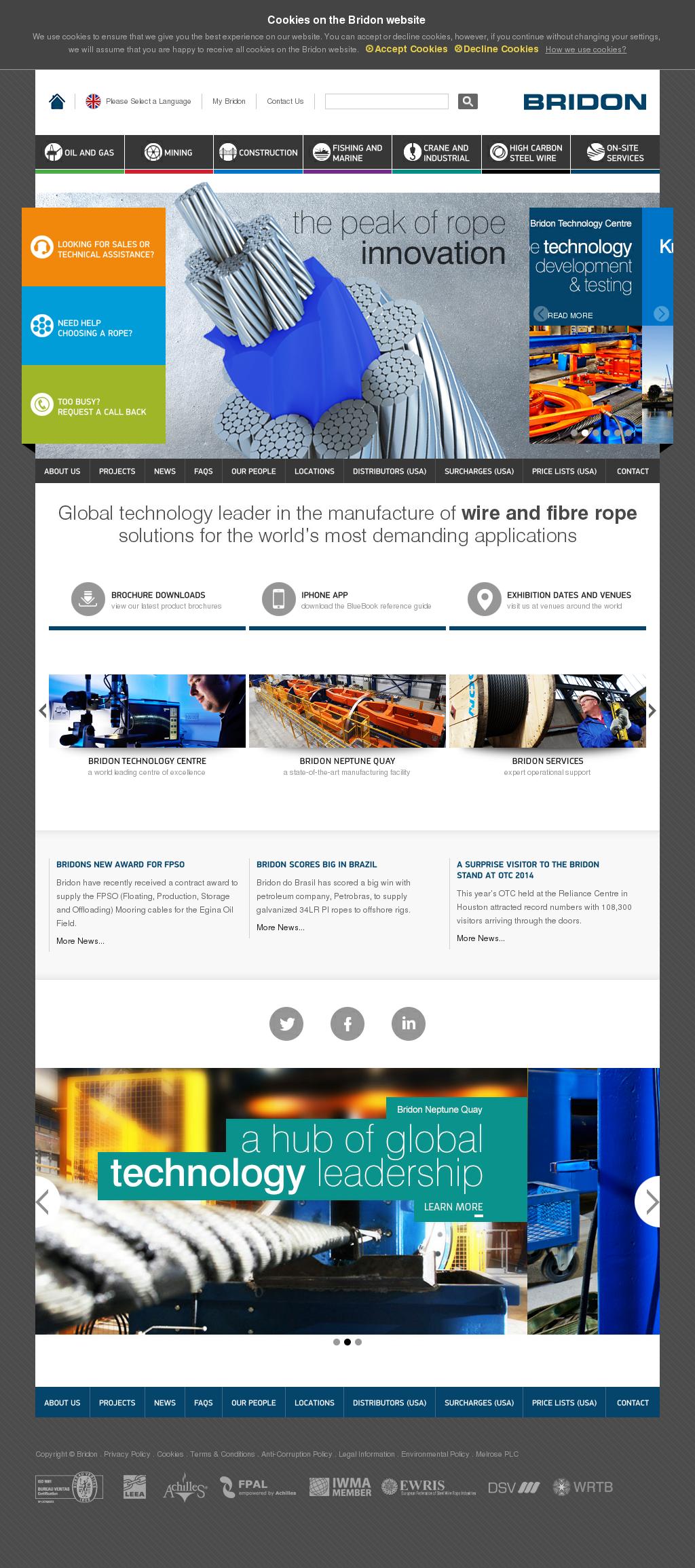 Bridon Competitors, Revenue and Employees - Owler Company Profile