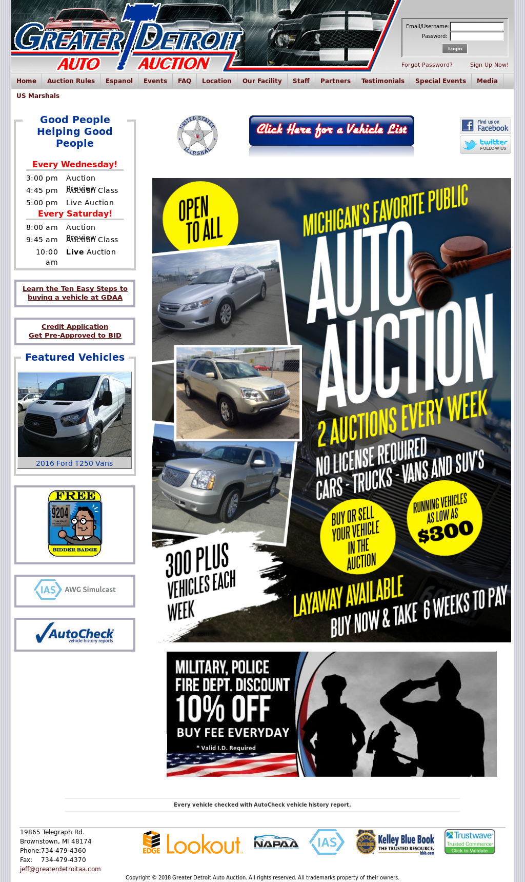 Port Huron Auto Auction Competitors, Revenue and Employees