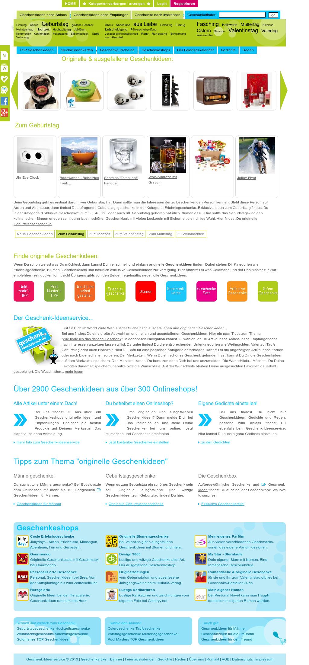 Geschenk Ideenservice Competitors Revenue And Employees