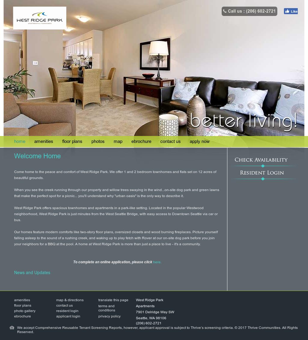 West Ridge Park Apartments Competitors, Revenue and Employees ...