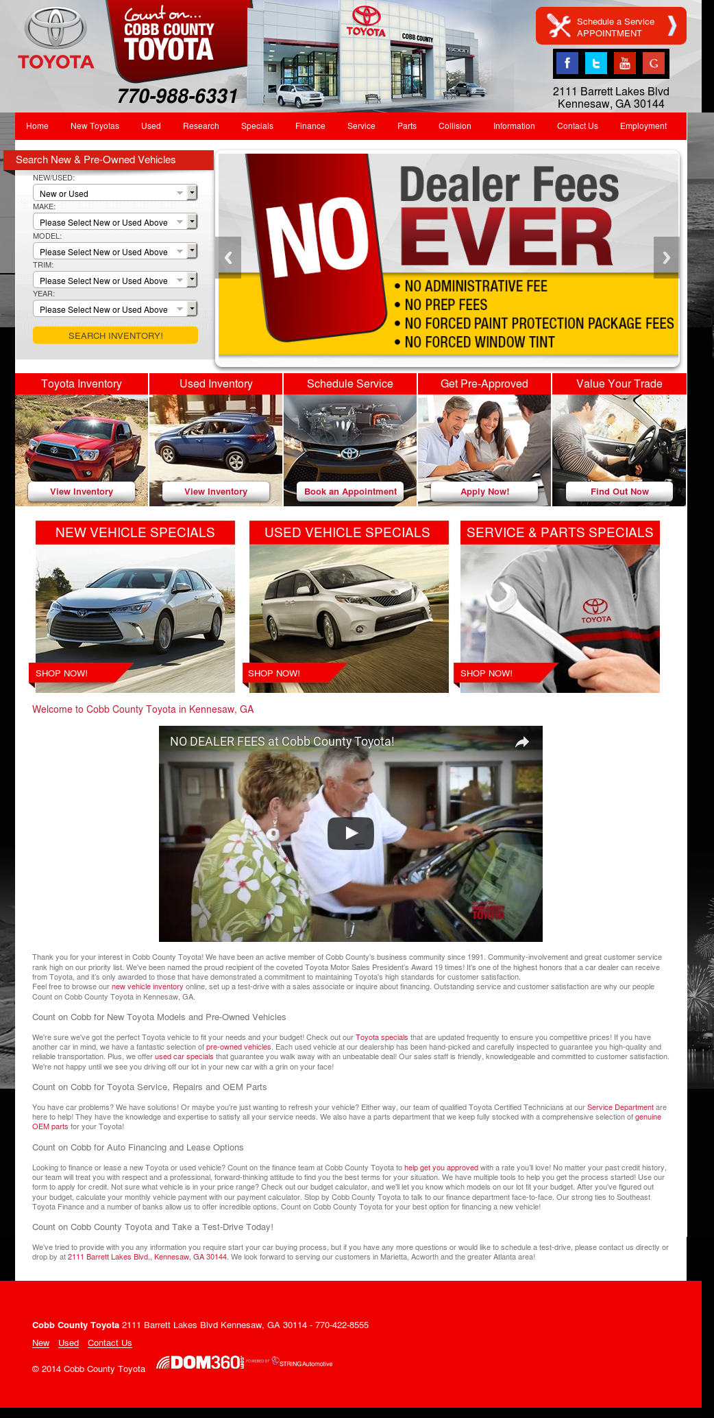 Cobb County Toyota Compeors Revenue And Employees Owler Company Profile