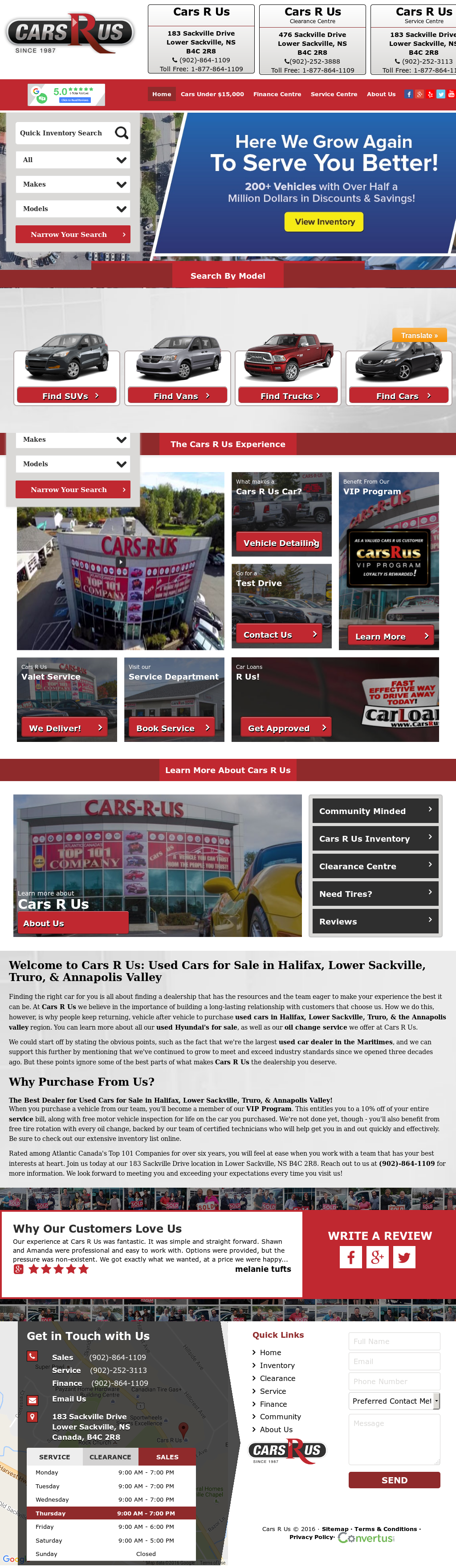Cars R Us Sackville >> Cars R Us Fan Page Competitors Revenue And Employees Owler