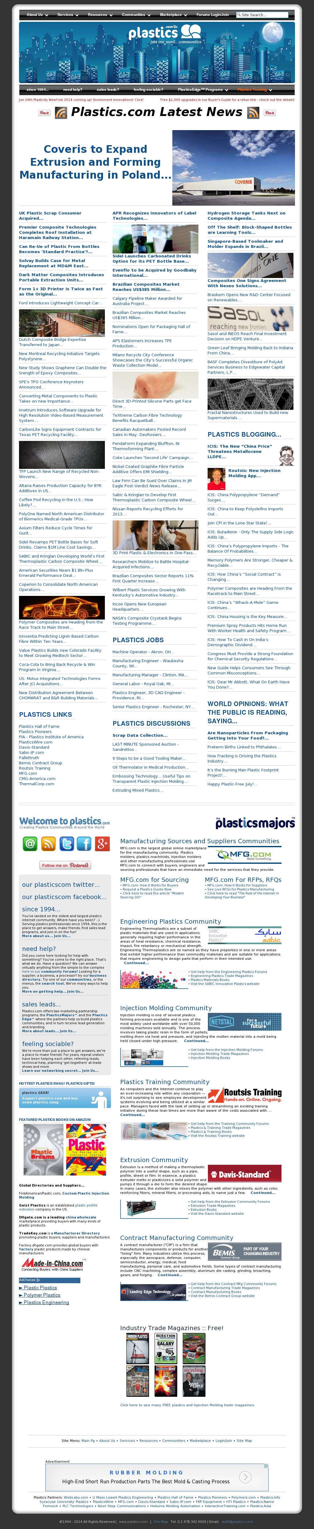 Plastics Competitors, Revenue and Employees - Owler Company