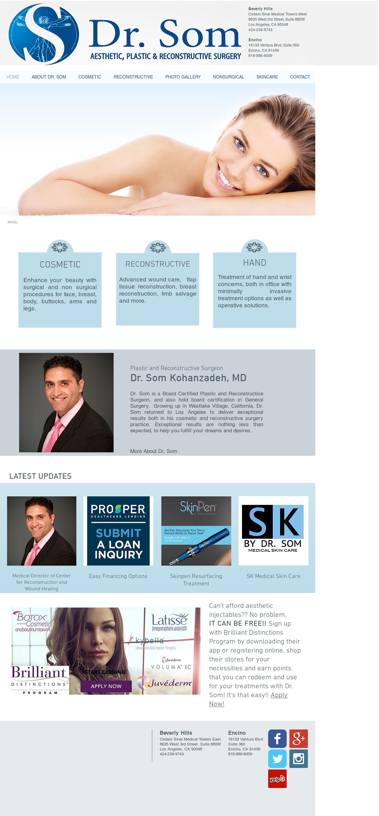Som K Plastic Surgery Competitors, Revenue and Employees