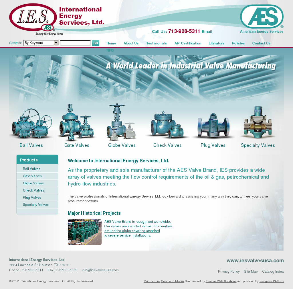 Aes valves competitors revenue and employees company profile on aes valves website history 1betcityfo Gallery